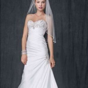 David bridal weeding dress